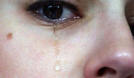 płacz 2 Zdjęcia Royalty Free