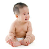 Płacz chłopiec Zdjęcie Royalty Free