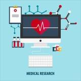 Płaska ilustracja pomoc medyczna pomóż najpierw Online lekarka Kierowa opieka Apteka, medicaments i szczepionki, Opieka zdrowotna Zdjęcia Royalty Free