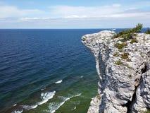 Płaska skała przy Gotland Zdjęcie Royalty Free