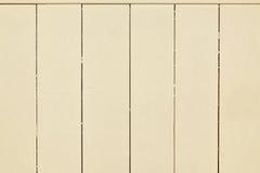 Płaski beż, drewno ściany deski deski panelu tła tekstura Obrazy Stock