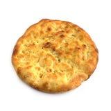 płaski chleb z rozmarynami obraz royalty free