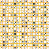 Płaski kostka do gry wzór tło bezszwowy wektora ilustracja wektor