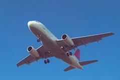 Płaski lądowanie Fotografia Stock