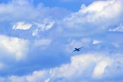 płaski niebo Obrazy Royalty Free