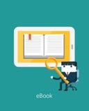 Płaskie Biznesowe charakter serie biznesowy ebook pojęcie ilustracji