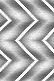 Płaskie szarość z halftone textured szewronem ilustracji