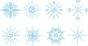 płatek śniegu royalty ilustracja