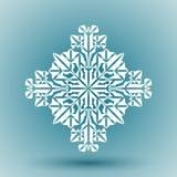 płatek śniegu abstrakcyjne royalty ilustracja