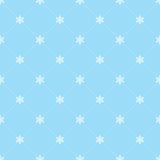 płatek śniegu bezszwowa tapeta Zdjęcie Stock