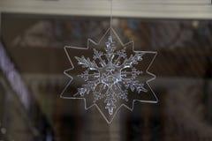 płatek śniegu dekoracyjny obrazy stock