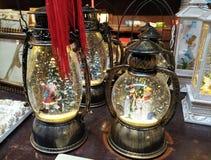 Płatek śniegu lampion zdjęcie royalty free