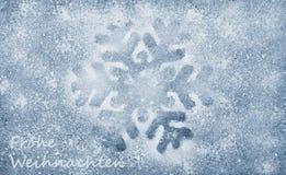 Płatek śniegu, włókno tkanina i błyskotliwość film, tło obrazy royalty free