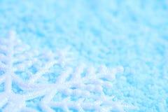 Płatek śniegu w śniegu zdjęcie royalty free