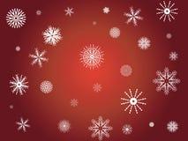 płatek śniegu zima Zdjęcia Royalty Free