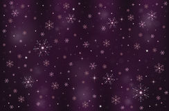 Płatek śniegu zimy mroźny śnieżny tło ilustracji