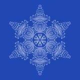 Płatków śniegu szczegółowi boże narodzenia ilustracyjni Obraz Royalty Free