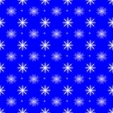 Płatka śniegu bezszwowy deseniowy tło Obraz Royalty Free