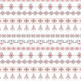 Płatka śniegu bezszwowy wzór dla Bożenarodzeniowy pakować, tkaniny, tapetowa ilustracja obraz stock