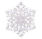 Płatka śniegu kształt Fotografia Royalty Free