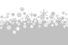 Płatka śniegu tło ilustracji