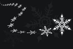 płatka śniegu wektor Zdjęcia Royalty Free
