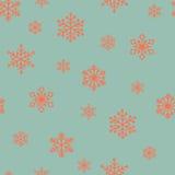 Płatka śniegu wzór Fotografia Royalty Free