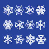 płatki śniegu royalty ilustracja