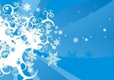 płatki śniegu Obrazy Royalty Free