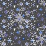 płatki śniegu Fotografia Royalty Free