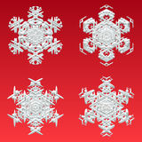 płatki śniegu Zdjęcie Stock