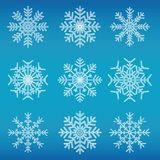 płatki śniegu Obraz Stock