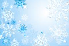 płatki śniegu, położenie ilustracja wektor