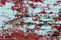 płatkowata struktura drewniana farby Zdjęcia Stock