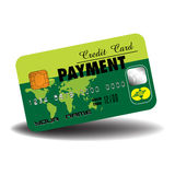 Płatnicza kredytowa karta Zdjęcie Royalty Free