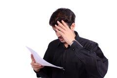 płatniczy napięcia Zdjęcia Stock