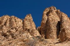 Płatowaci kamienie i wysocy wzgórza w Khosrov parku Obrazy Royalty Free