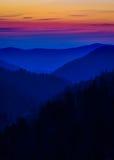 Płatowaci kolory w Smokies Zdjęcie Royalty Free