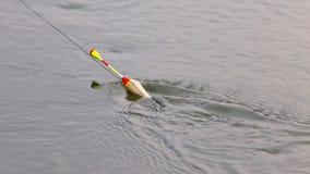 Pławik dla łowić na wodzie zdjęcia royalty free
