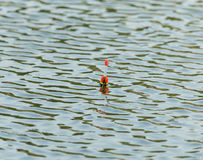 Pławik dla łowić na wodzie obrazy stock