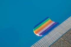 Pławik w pływackim basenie zdjęcie stock