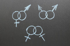 Płeć współczynnik obraz stock