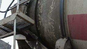 Płodozmienna betonowego melanżeru ciężarówka zbiory wideo