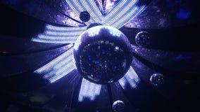 Płodozmienna dyskoteki lustra piłka z iluminującym wystrojem, błyska świetlicowego wyposażenie zbiory