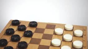 Płodozmienny chessboard z szachy zdjęcie wideo