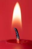 płomień świecy Zdjęcia Stock