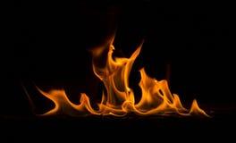 płomień obraz stock