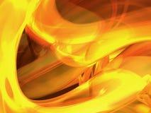 płomień abstrakcyjne Obrazy Stock