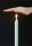 płomień oddający zdjęcia stock