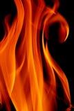 płomień pożarowej konsystencja fotografia stock